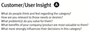 Brand Strategy Canvas: Customer/User Insight